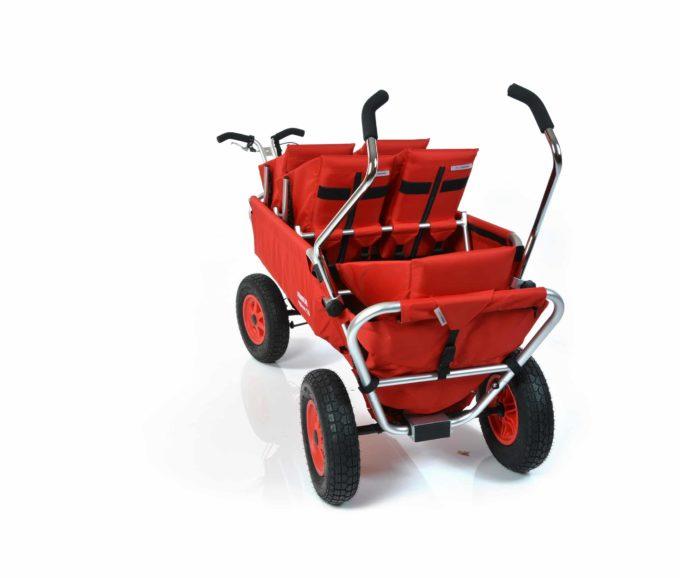 Rambler Explorer 120 (für 6 Kinder) - 2 Duo-Babysitze + 2 Kindersitze + hinterer Rahmen 11