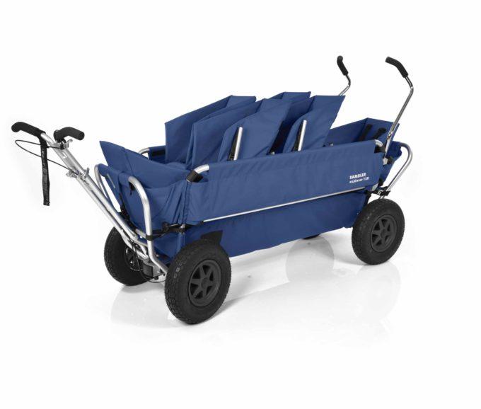 Rambler Explorer 120 (für 6 Kinder) - 2 Duo-Babysitze + 2 Kindersitze + hinterer Rahmen 13