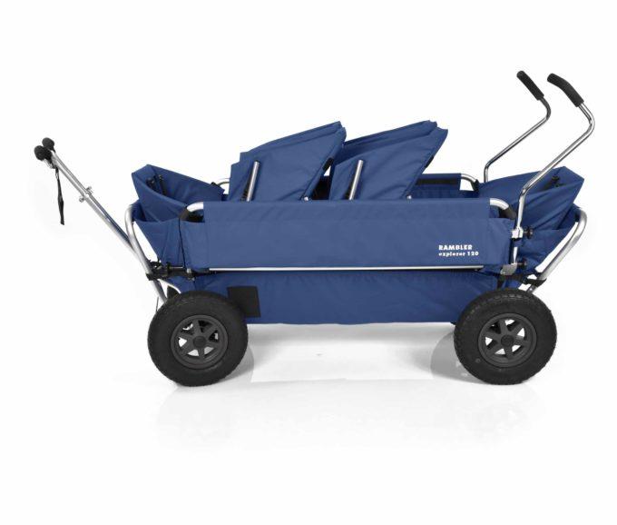 Rambler Explorer 120 (für 6 Kinder) - 2 Duo-Babysitze + 2 Kindersitze + hinterer Rahmen 16