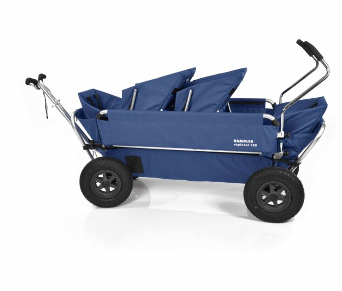Rambler Explorer 120 (für 6 Kinder) - 2 Duo-Babysitze + 2 Kindersitze + hinterer Rahmen 17