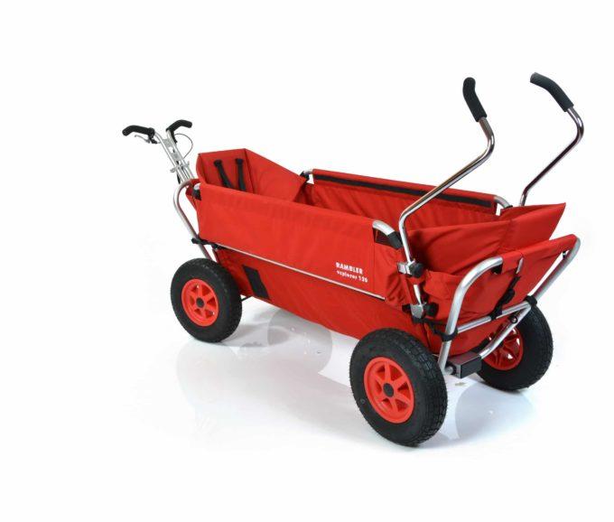 Rambler Explorer 120 (für 11 Kinder) - 2 Kindersitze + hinterer Rahmen 9
