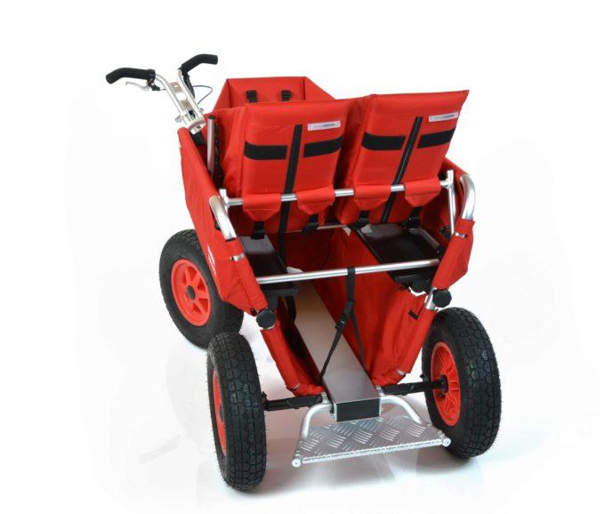 Rambler Explorer 80 (für 6 Kinder) + 1 Kindersitz + 1 Duo-Babysitz + Trittbrett 11