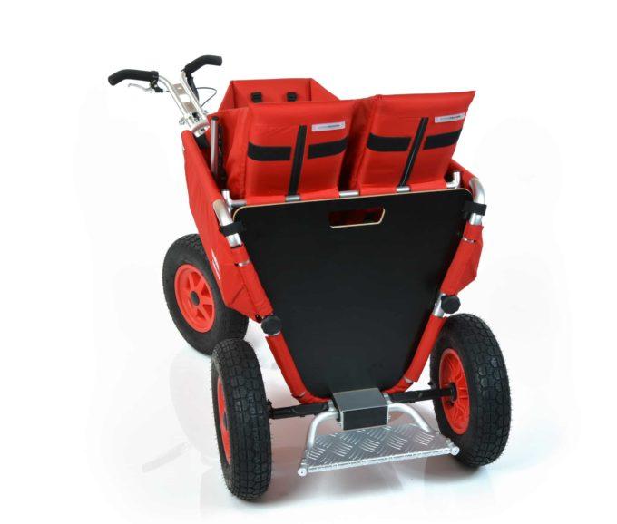 Rambler Explorer 80 (für 6 Kinder) + 1 Kindersitz + 1 Duo-Babysitz + Trittbrett 12
