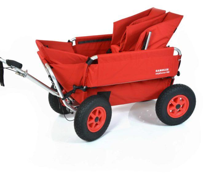 Rambler Explorer 80 (für 6 Kinder) + 1 Kindersitz + 1 Duo-Babysitz + Trittbrett 3