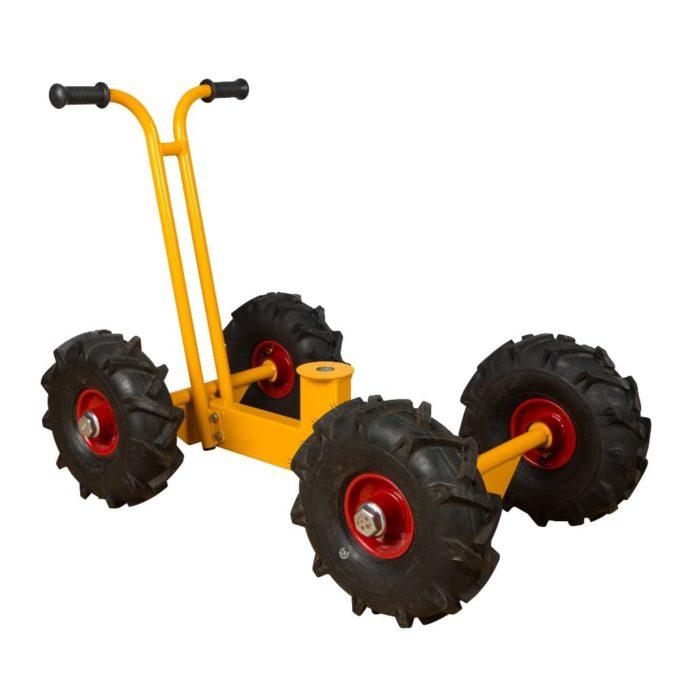 RABO Chassis mit Rädern für Bagger 1