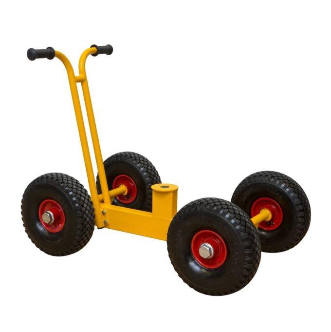 RABO Chassis mit Rädern für Bagger 2