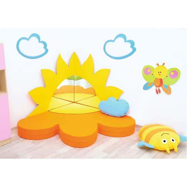 Kindergarten-Spiegel-Set: Sonne 2
