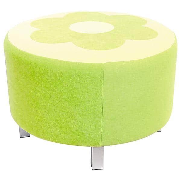 Kindergarten-Sitz Premium - rund - grün 1