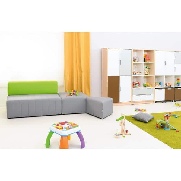 Kindergarten-Sitz Modern Plus - quadratisch 2