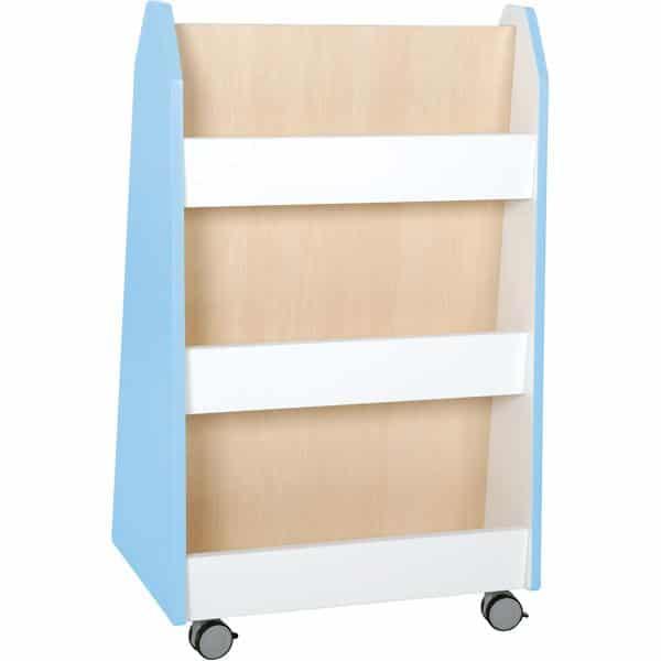 Kindergarten-Bücherregal Quadro - zweiseitig - Ahorn 11