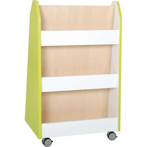 Kindergarten-Bücherregal Quadro - zweiseitig - Ahorn 7