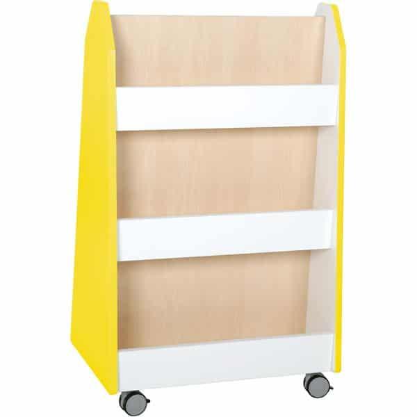 Kindergarten-Bücherregal Quadro - zweiseitig - Ahorn 3