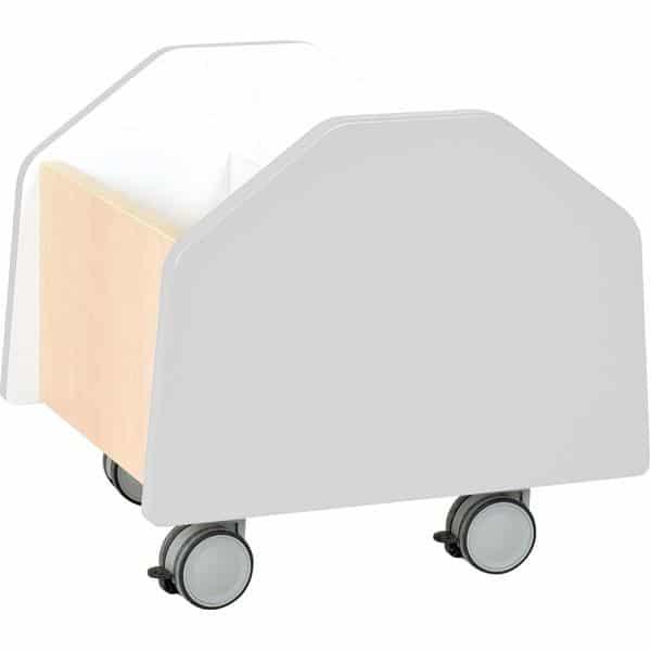 Kindergarten-Rollbehälter Quadro - klein - Ahorn 8