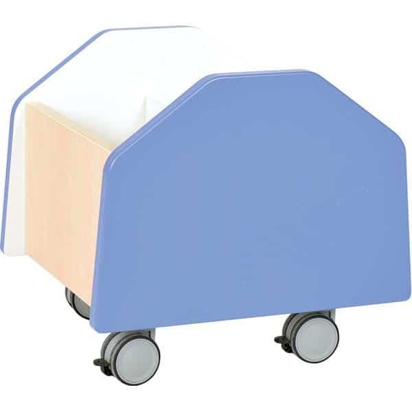 Kindergarten-Rollbehälter Quadro - klein - Ahorn 9