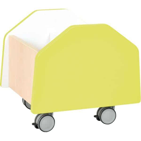Kindergarten-Rollbehälter Quadro - klein - Ahorn 6