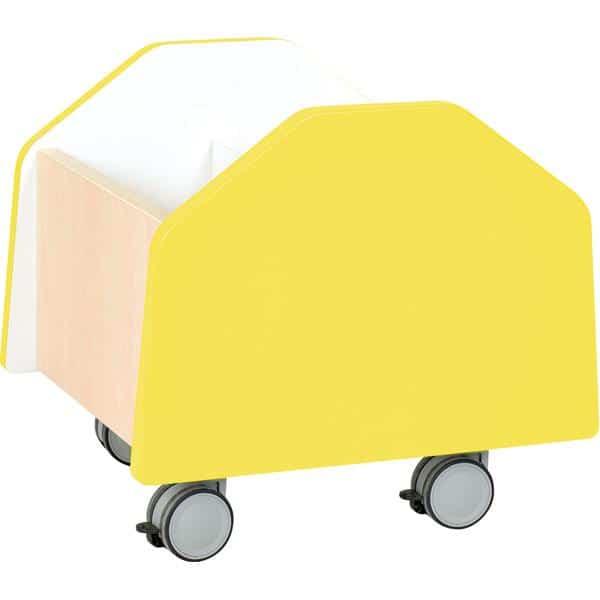 Kindergarten-Rollbehälter Quadro - klein - Ahorn 3