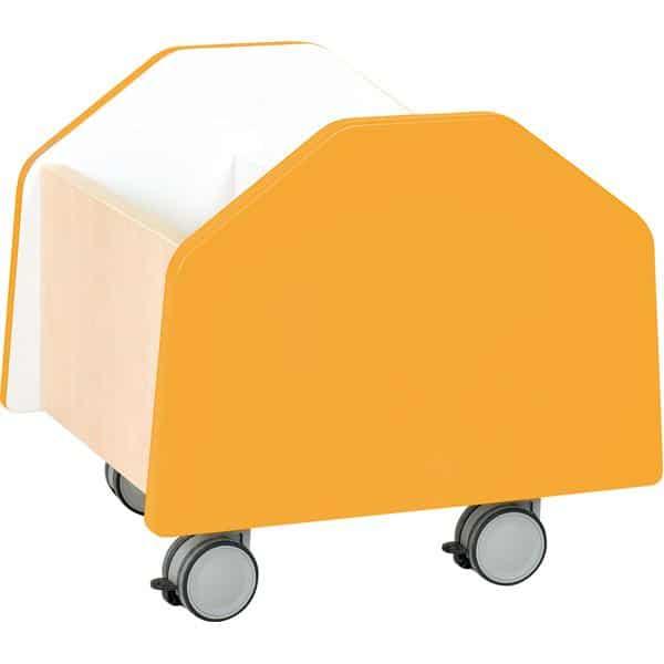 Kindergarten-Rollbehälter Quadro - klein - Ahorn 4