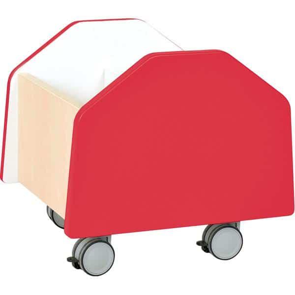 Kindergarten-Rollbehälter Quadro - klein - Ahorn 1