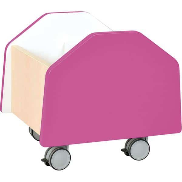 Kindergarten-Rollbehälter Quadro - klein - Ahorn 5