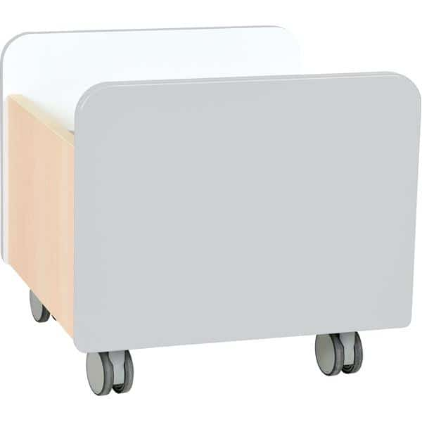 Kindergarten-Rollbehälter Quadro - mittel - Ahorn 8