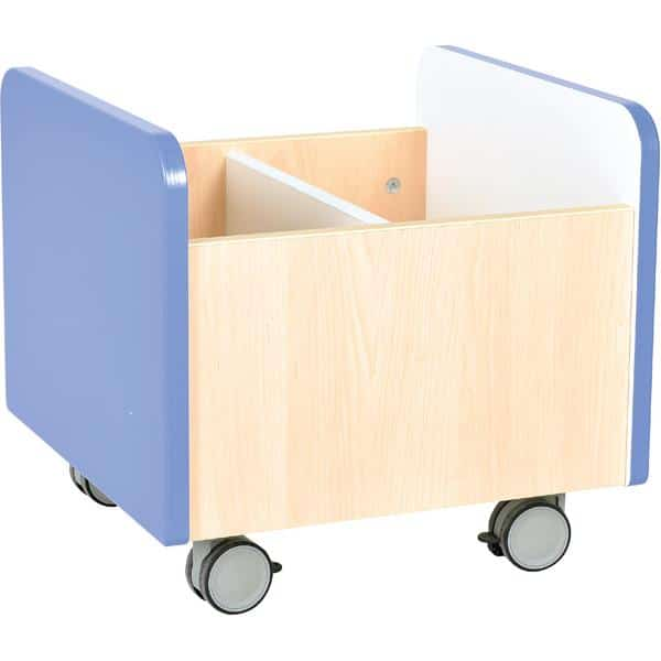 Kindergarten-Rollbehälter Quadro - mittel - Ahorn 10