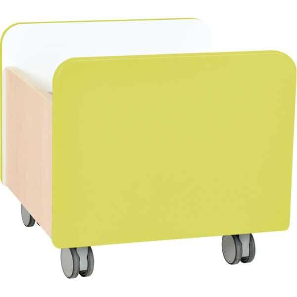 Kindergarten-Rollbehälter Quadro - mittel - Ahorn 6