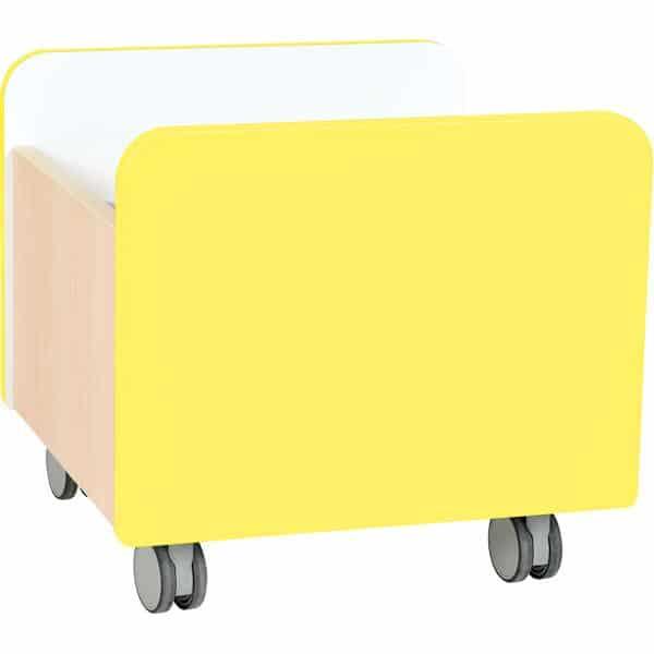 Kindergarten-Rollbehälter Quadro - mittel - Ahorn 3