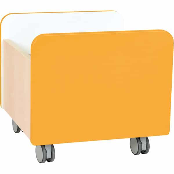 Kindergarten-Rollbehälter Quadro - mittel - Ahorn 4