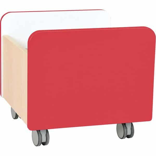 Kindergarten-Rollbehälter Quadro - mittel - Ahorn 7