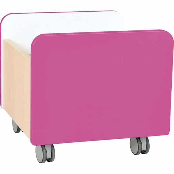 Kindergarten-Rollbehälter Quadro - mittel - Ahorn 1