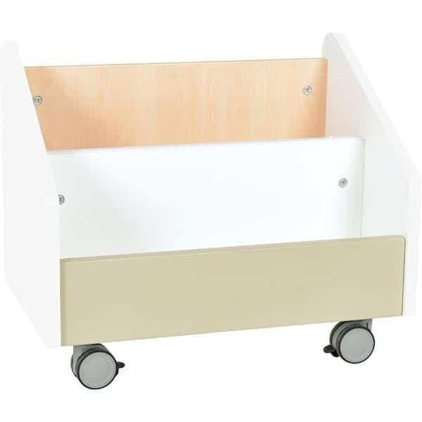 Kindergarten-Rollbehälter Quadro - groß - Ahorn 2
