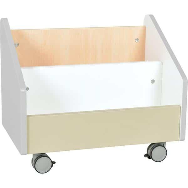 Kindergarten-Rollbehälter Quadro - groß - Ahorn 1