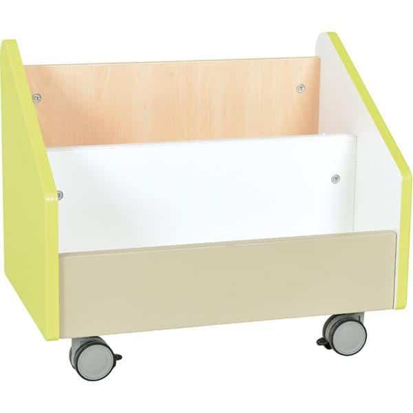 Kindergarten-Rollbehälter Quadro - groß - Ahorn 6