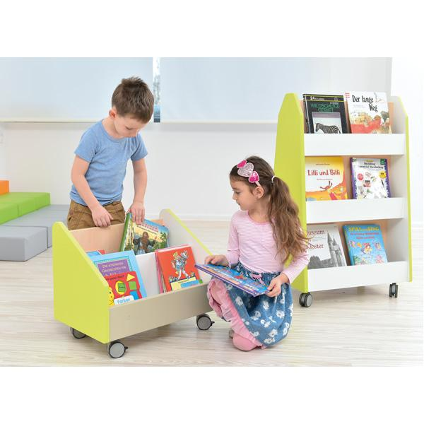 Kindergarten-Rollbehälter Quadro - groß - Ahorn 7
