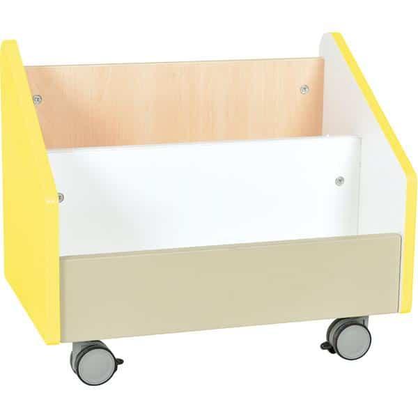 Kindergarten-Rollbehälter Quadro - groß - Ahorn 3