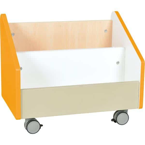 Kindergarten-Rollbehälter Quadro - groß - Ahorn 4