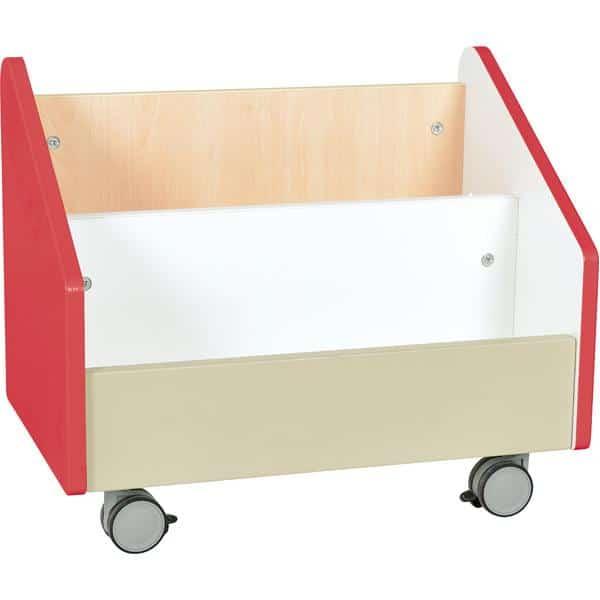 Kindergarten-Rollbehälter Quadro - groß - Ahorn 8