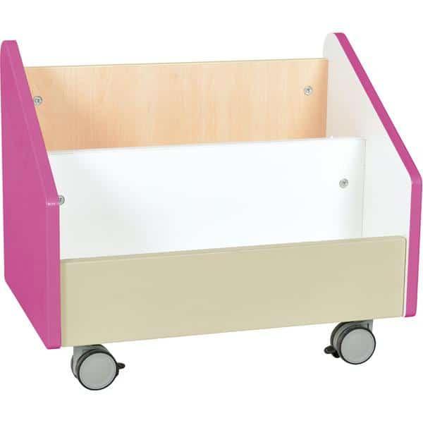 Kindergarten-Rollbehälter Quadro - groß - Ahorn 5