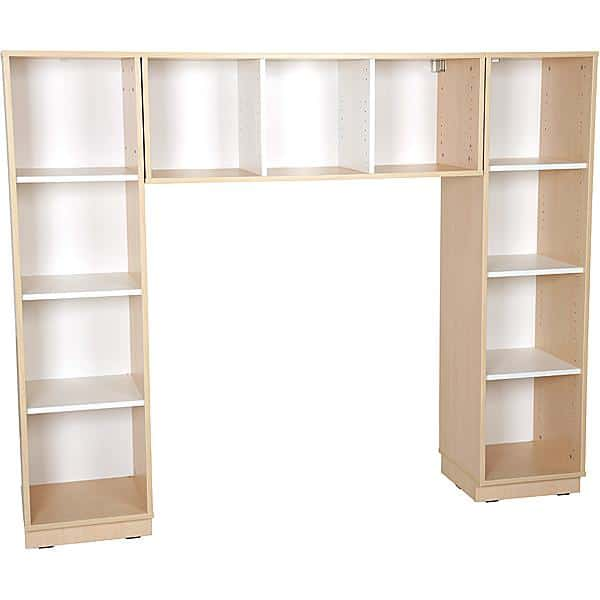 Kindergarten-Bücherregal Quadro - Bücherecke - Ahorn 1