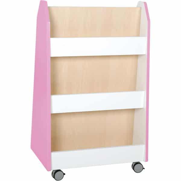 Kindergarten-Bücherregal Quadro - zweiseitig - Ahorn 5