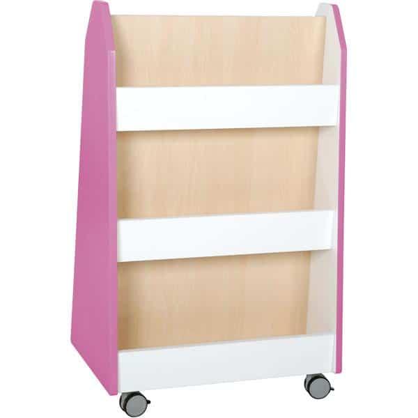 Kindergarten-Bücherregal Quadro - zweiseitig - Ahorn 6