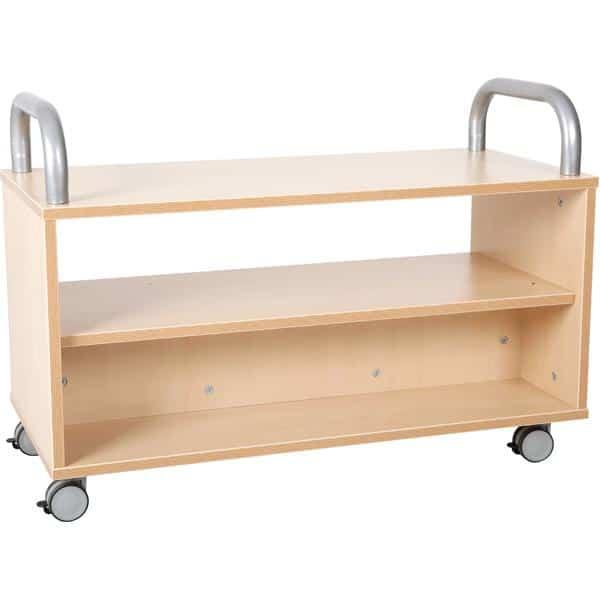 Kindergarten-Flexi Bücherwagen 1