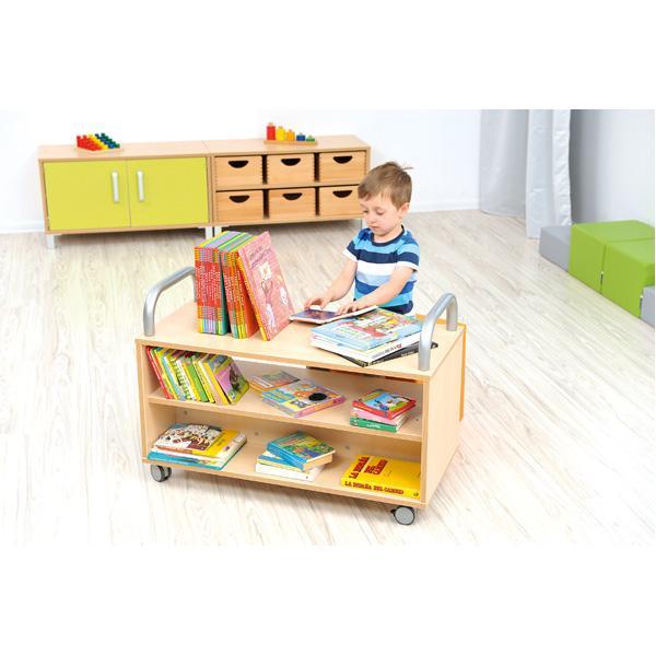Kindergarten-Flexi Bücherwagen 2