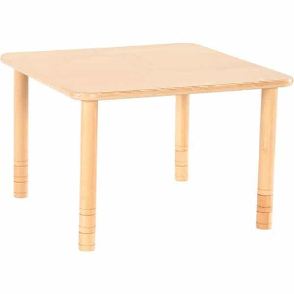 Kindergarten-Tisch Flexi (quadratisch) - höhenverstellbar 58-76 cm 2