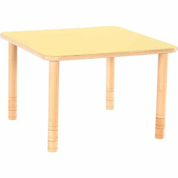 Kindergarten-Tisch Flexi (quadratisch) - höhenverstellbar 58-76 cm 3