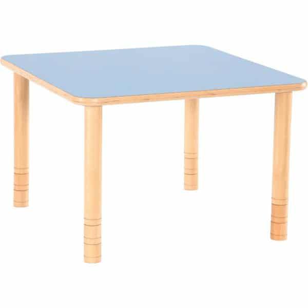 Kindergarten-Tisch Flexi (quadratisch) - höhenverstellbar 58-76 cm 1