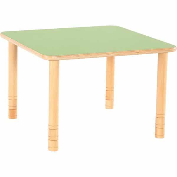 Kindergarten-Tisch Flexi (quadratisch) - höhenverstellbar 58-76 cm 4