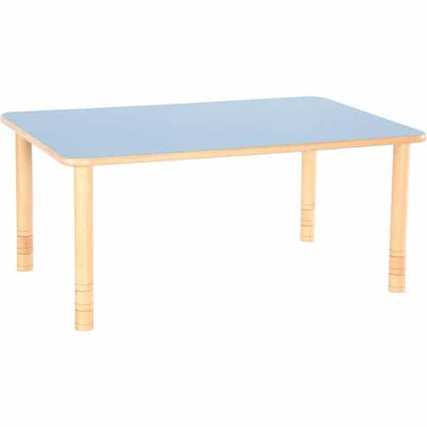 Kindergarten-Tisch Flexi (rechteckig) - höhenverstellbar 58-76 cm 3