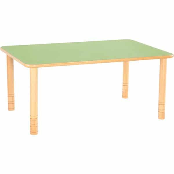 Kindergarten-Tisch Flexi (rechteckig) - höhenverstellbar 58-76 cm 4