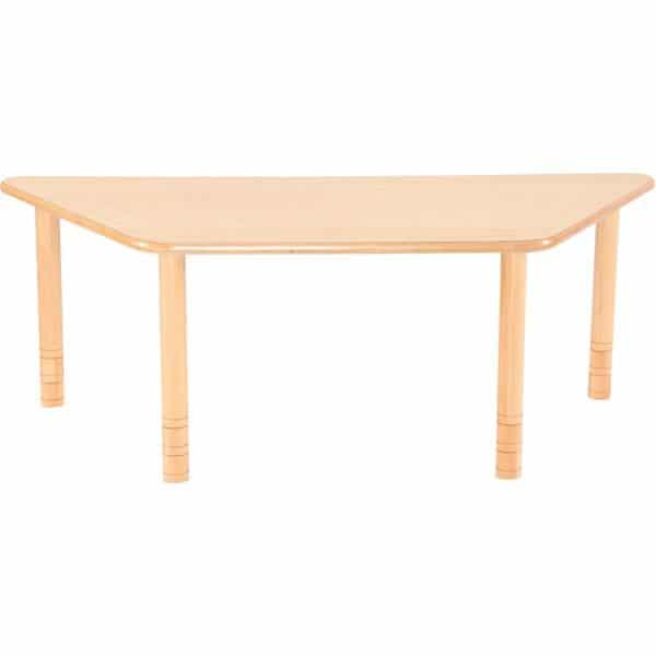 Kindergarten-Tisch Flexi (trapezförmig) - höhenverstellbar 40-58 cm 5